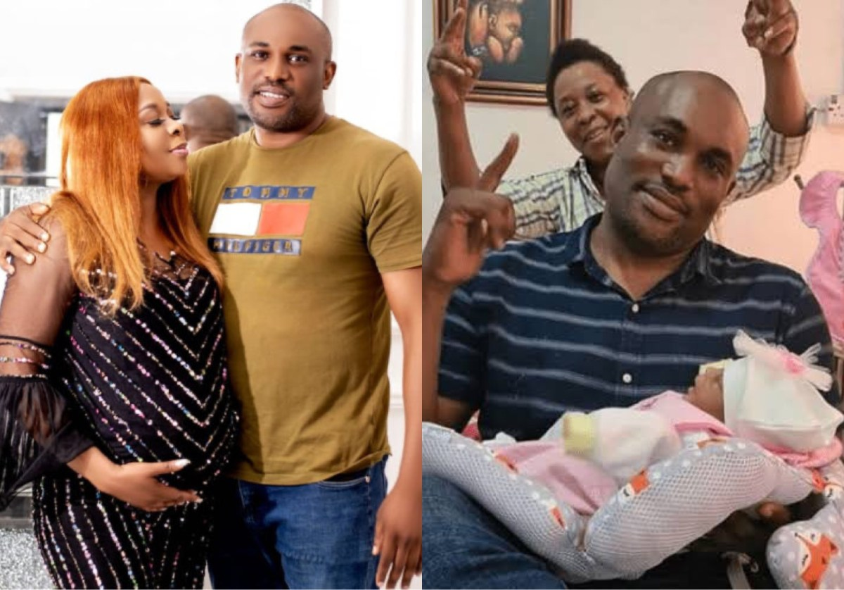 Nollywood Actress, Tricia Eseigbe Kerry Welcomes Baby Girl After 10 Years Of Marriage