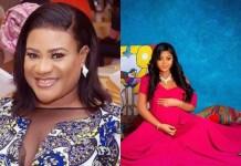 Nkechi Blessing and Regina Daniels