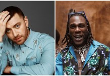 Burna Boy and Sam Smith