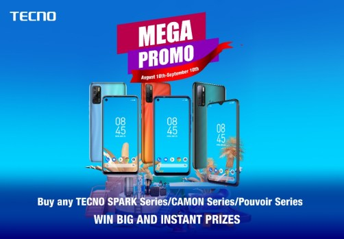 Win Fridge, Washing Machine and other free gifts in TECNO Mega Promo