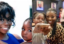 Sophia Momodu and her daughter
