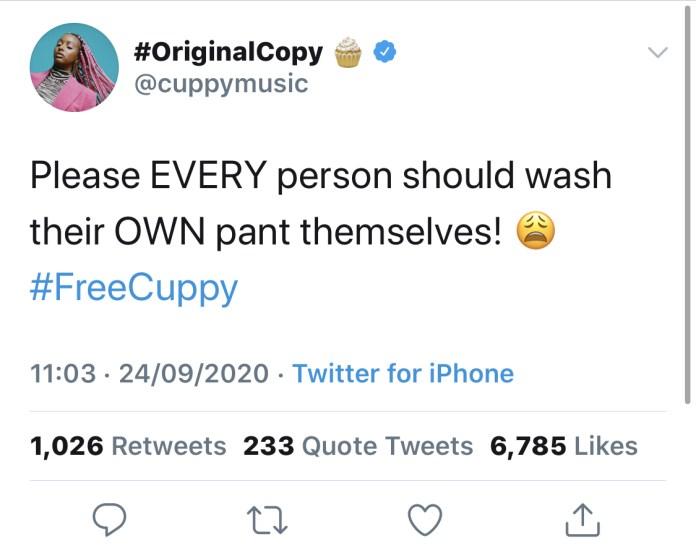 The disc jockey's tweet