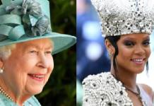 Rihanna, Queen Elizabeth II