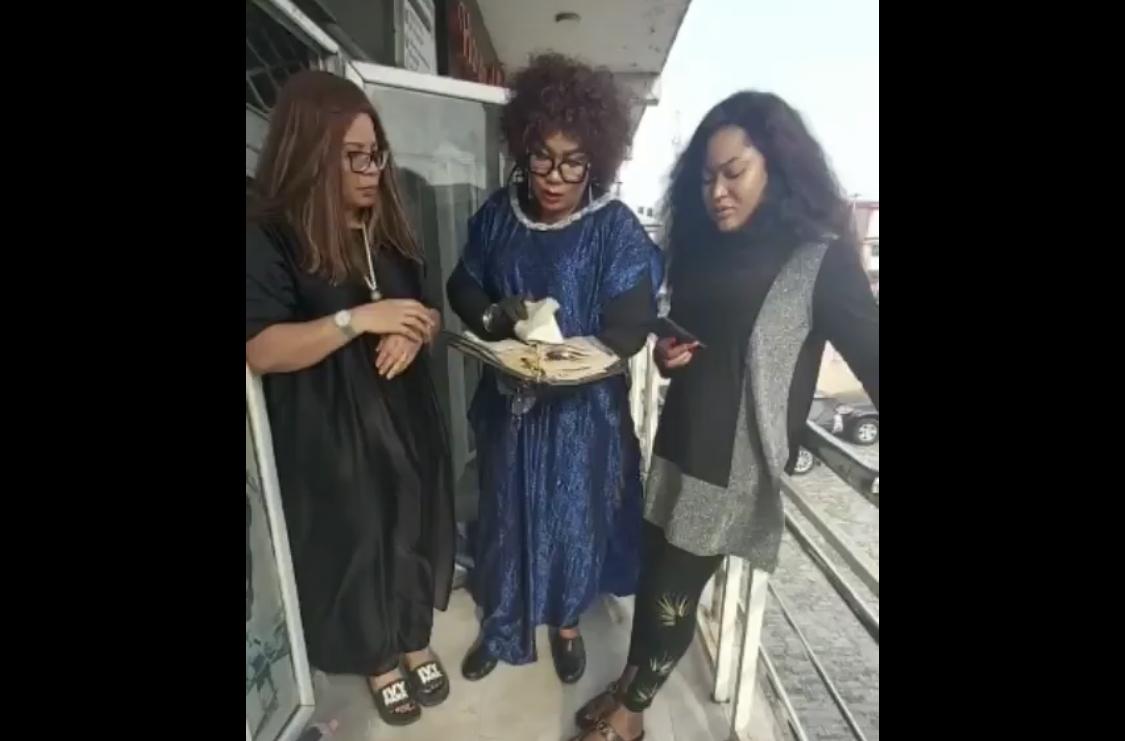 Monalisa Chinda, Eucharia Anunobi and Uche Elendu