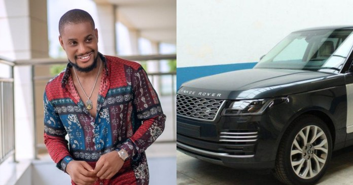 """Be a giver"" – Just a week after gifting his mum a car, Alex Ekubo receives Range Rover SUV as surprise gift from a friend"