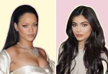 Kylie Jenner, Rihanna