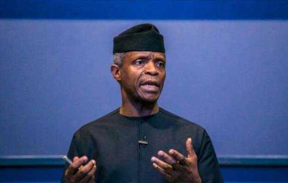 Lekki Toll Gate Shooting: Vice President, Osinbajo Breaks Silence