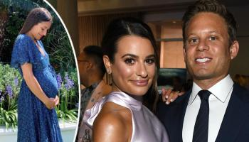 Lea Michele Is Delighted as She Reveals Pregnancy