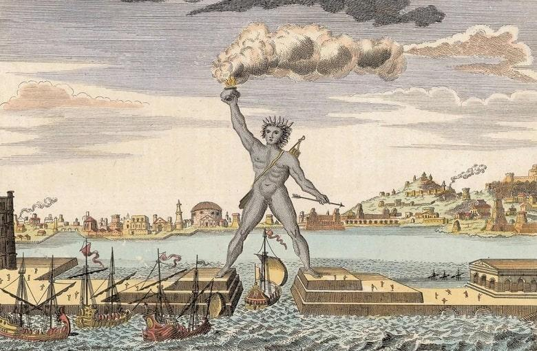 The Colossus of Rhodes (Greece)