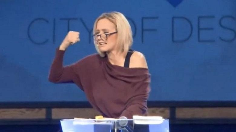 Paula White Delivered A Prayer Service to Ensure Trump's Re-election
