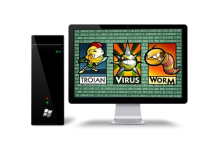 Three types of programs that can infect a computer