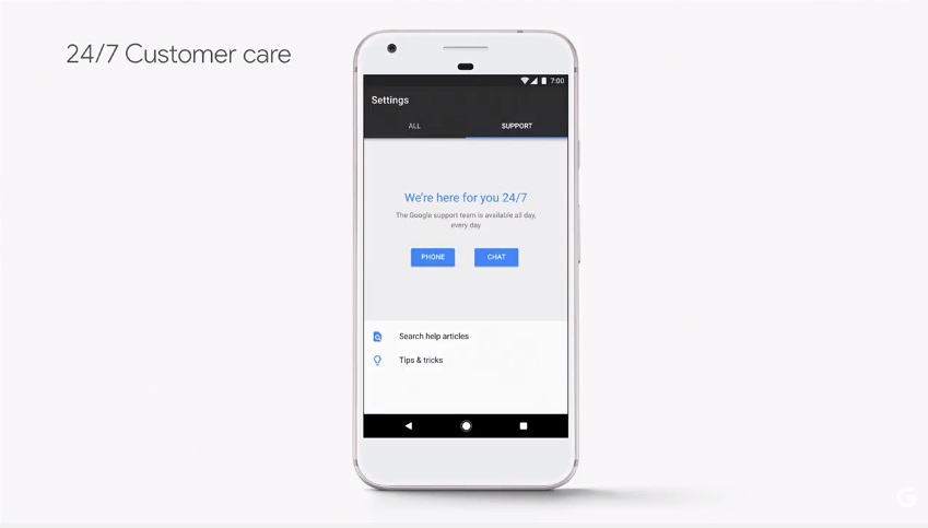 Google Pixel Phone 24by7 Custpmer care