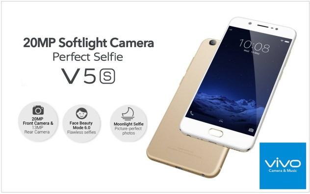 Vivo V5s Perfect Selfie Camera Mobile