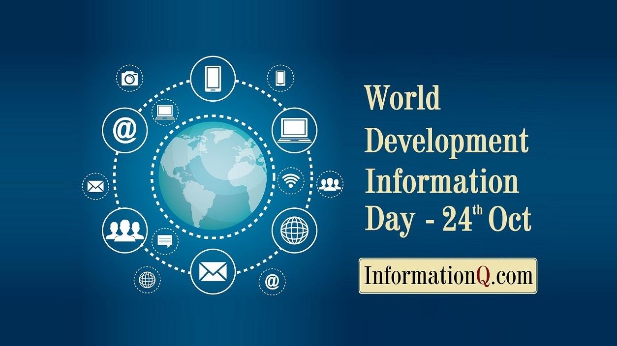 World Development Information Day – 24th October
