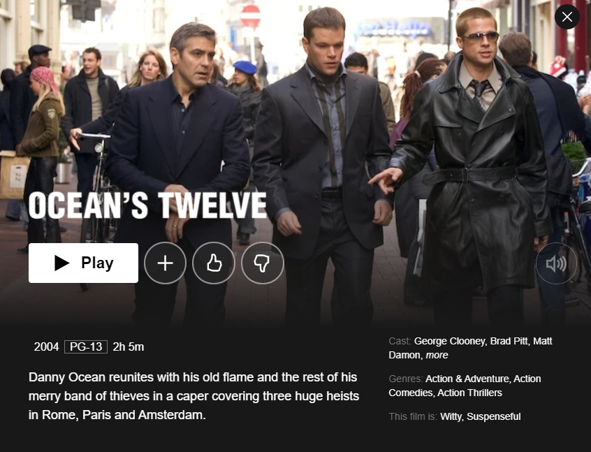 The sea is a part of the ocean that is partially enclosed by land. How To Watch Ocean S 11 Ocean S 12 And Ocean S 13 On Netflix Anywhere