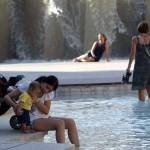 Las temperaturas alcanzan los 36 grados en las comarcas de interior