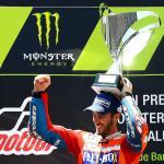 Otra vez Dovizioso y Ducati que ya se acercan a Viñales y Yamaha