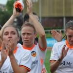 2-1: El intenso calor y la mala suerte derrotan al Valencia