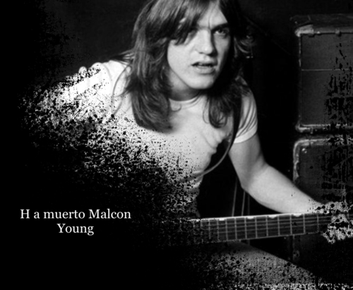 ES NOTICIA…Ha muerto MALCON YOUNG