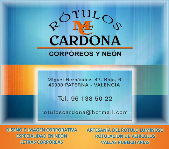 RÓTULOS CARDONA
