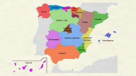 Mapa de Autonomías/archivo