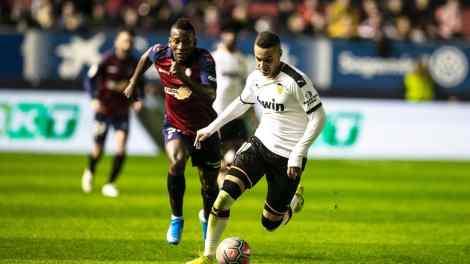 Rodrigo marcó el gol del Valencia/Img. VCF