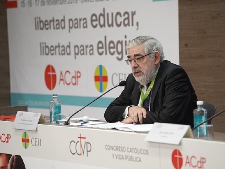 Jose Manuel Minguet, secretario general de la Universidad CEU Cardenal Herrera/Img. CEU CH