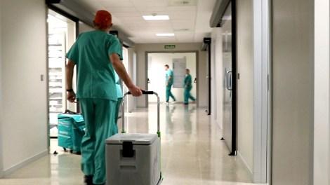 Unidad de transplantes del Hospital La Fe de Valencia/Img. GVA