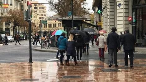 Llegan lluvias y bajan las temperaturas en Valencia a partir del lunes/Ing. A.C.iV.com