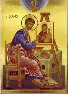 """Una tradición, tanto en Oriente como en Occidente, atribuye a San Lucas los primeros iconos de la Virgen, un tema que trata """"El manuscrito de Antioquía""""/Img. ReligiónenLibertad"""