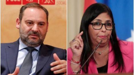 José Luis Ábalos admite ahora que se despidió de la vicepresidenta de Venezuela en la sala VIP de Barajas/LD
