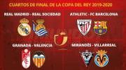 Sorteo 1/4 de final Copa del Rey/RFEF