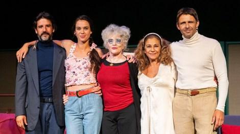 Del 5 al 16 de febrero , el Olympia presenta La fuerza del cariño, con Lolita Flores Luis Mottola, Antonio Hortelano y Marta Guerras, dirigida por Magüi Mira/TO.