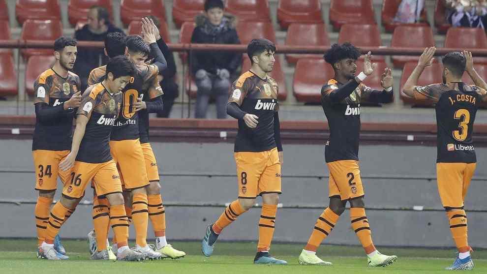 El Valencia se clasificó para octavos de Copa del Rey/VCF