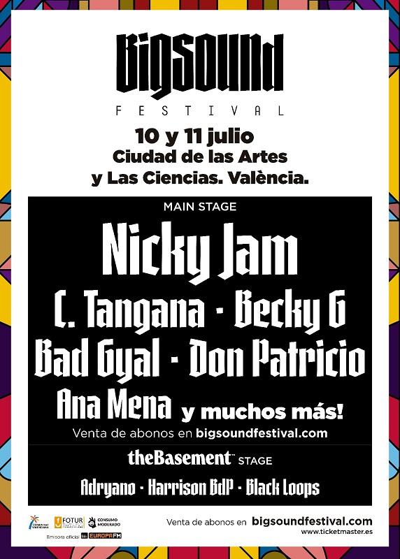 Cartel del Big Sound Festival/informaValencia.com