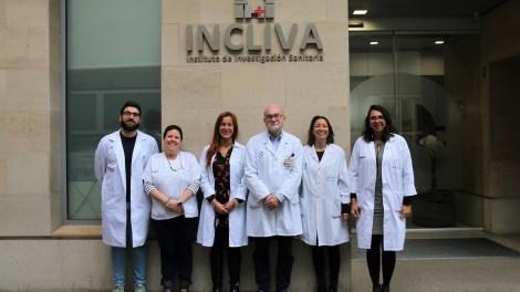 El grupo de investigadores de INCLIVA que ha participado en el estudio/Img. Incliva