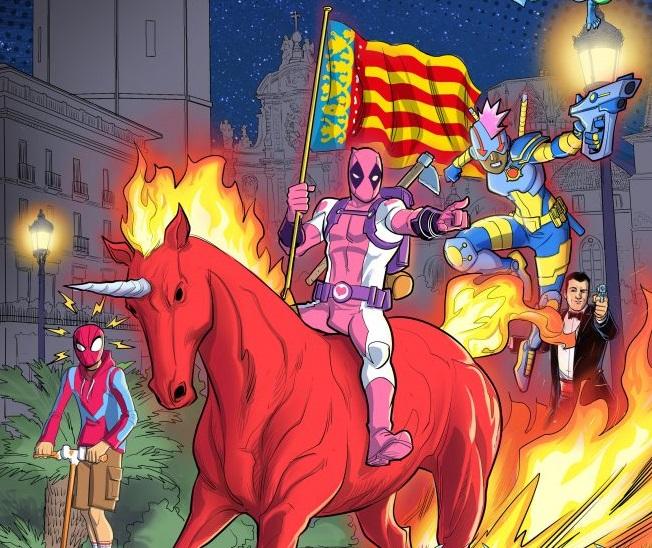 Abres sus puertas el salón del Cómic de Valencia/Ig. web
