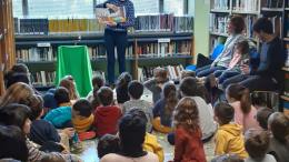 Paterna fomenta la lectura infantil con Cuentacuentos en las bibliotecas municipales/Img. Ayto. Paterna