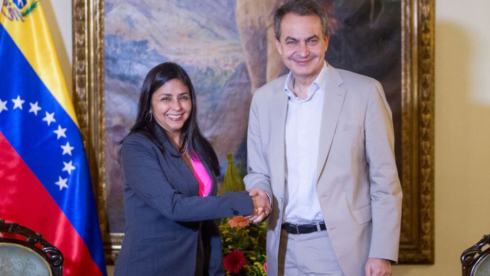 Zapatero es Rodríguez, como Delcy /VP