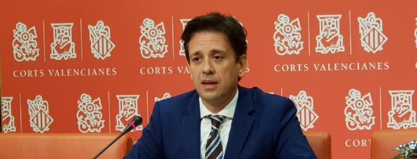 José Juan Zaplana, portavoz de Sanidad del Grupo Parlamentario Popular en Les Corts. /PPCV