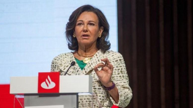 Ana Botín, presidenta del Banco Santander, /informaValencia.com
