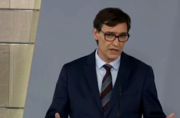 Salvador Illa, ministro de Sanidad/Img informaValencia.com