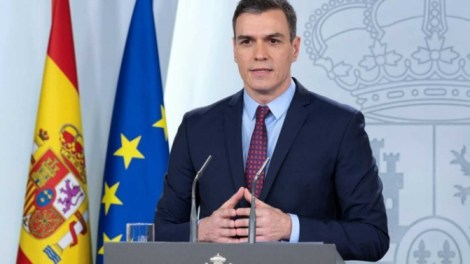 Pedro Sánchez comparece para explicar la declaración de estado de alarma/Rtve