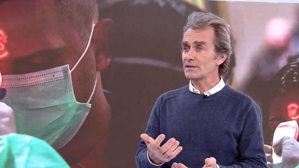 Fernando Simón, director del Centro de Coordinación de Alertas Sanitarias/rtve