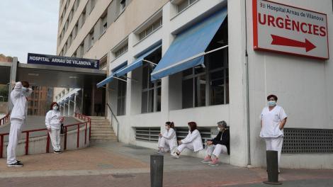 Los hospitales valencianos tienen a 1.620 personas ingresadas / twitter