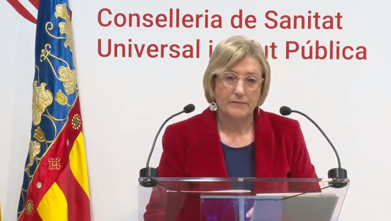 Ana Barceló, consellera de Sanidad, este martes 21 de abril./informaValencia.com