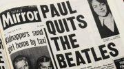 The Mirror publicaba así la separación de los Beatles/rtve