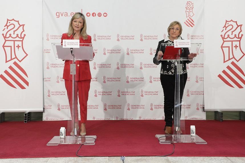 Las conselleras Bravo y Barceló/GVA