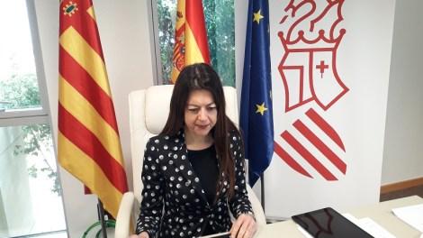 Carolina Pascual, consellera de Universidades/GVA