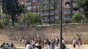 El Jardín del Túria, este domingo por la mañana/informaValencia.com